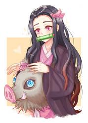 Nezuko-chan.