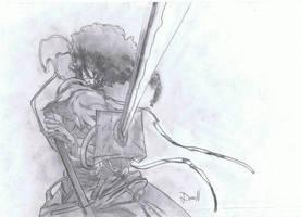 afro samuraj