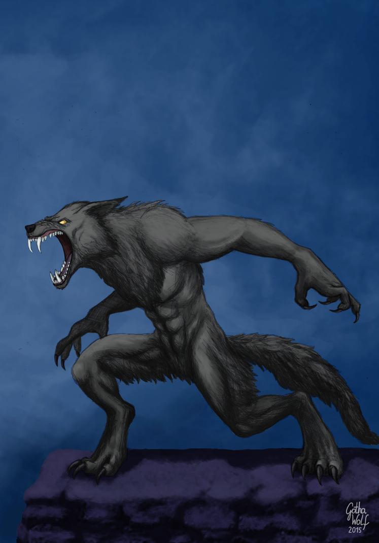 Werewolf by GothaWolf