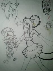 Aoi Sketch by FruitCake150