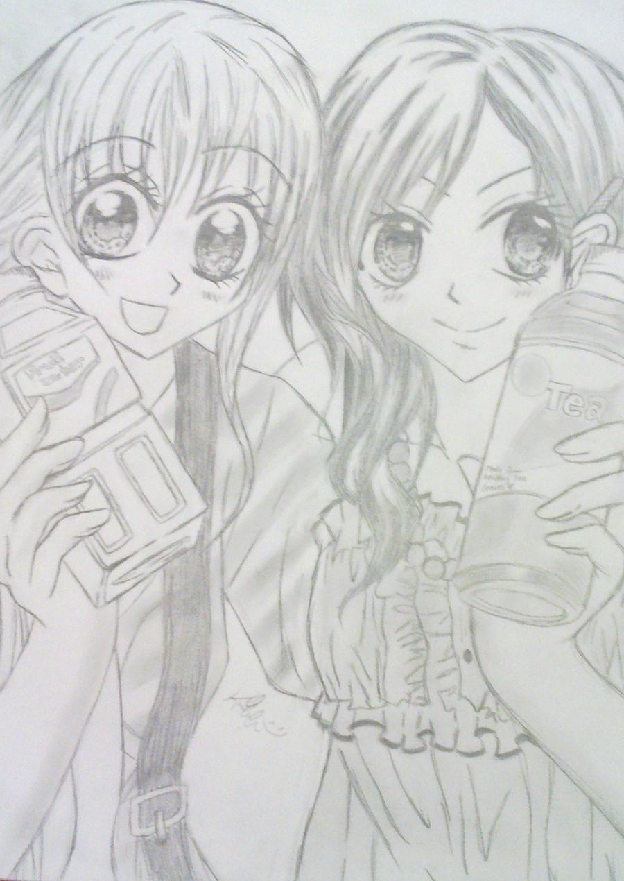 kitchen princess 2 by kimitos-drawing