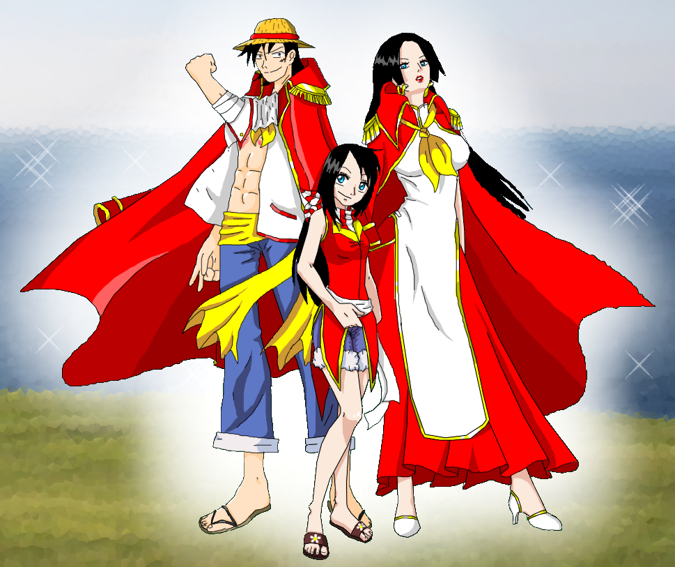 Boa d lis by lusph on deviantart - One piece luffy x hancock ...