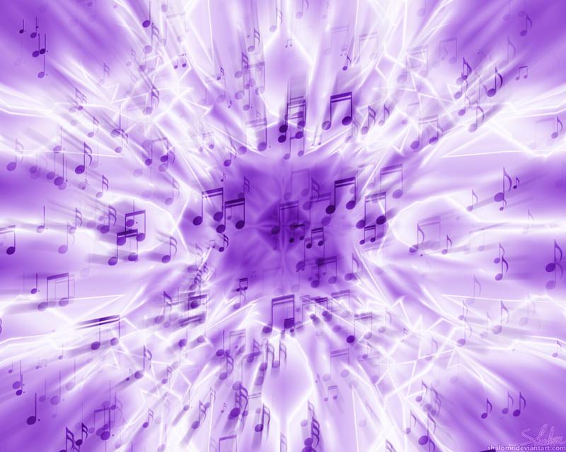 Purple Music by ShalomR on DeviantArt