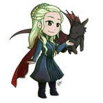 Daenerys by HizaraCiel