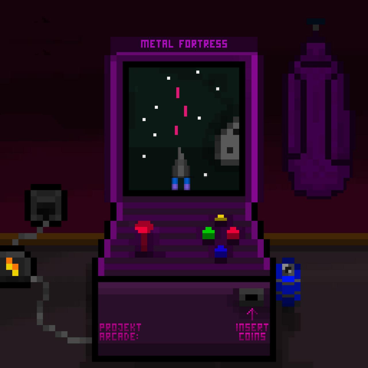 Album Art - Projekt Arcade Insert Coins
