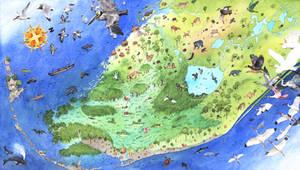 Historical Everglades Map