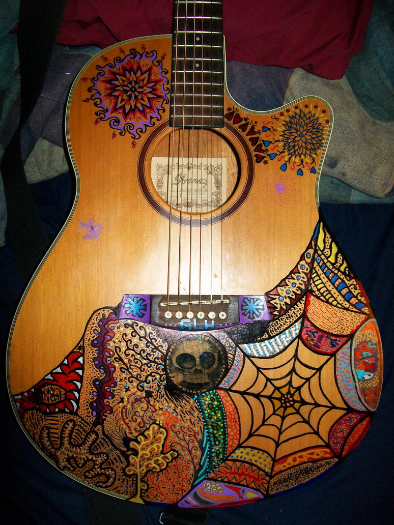 my acoustic guitar art by compman67 on deviantart. Black Bedroom Furniture Sets. Home Design Ideas