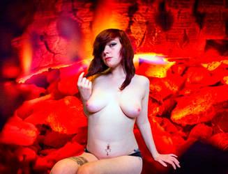 Lindsey Fire Goddess by compman67