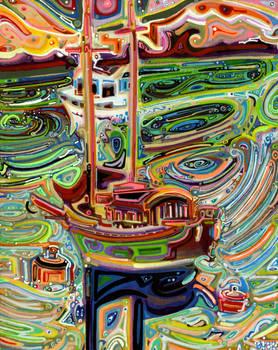 Sailing to Tofino