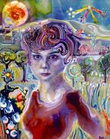 Audrey Hepburn by JoshByer
