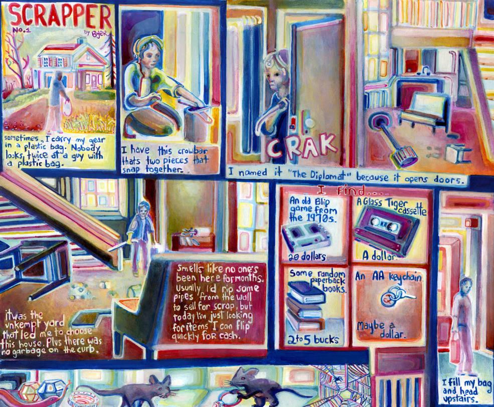 SCRAPPER No. 1 by JoshByer