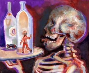 Bottled Spirits by JoshByer