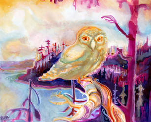 Owl Prince of Tofino by JoshByer