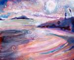 Chesterman Beach in November by JoshByer