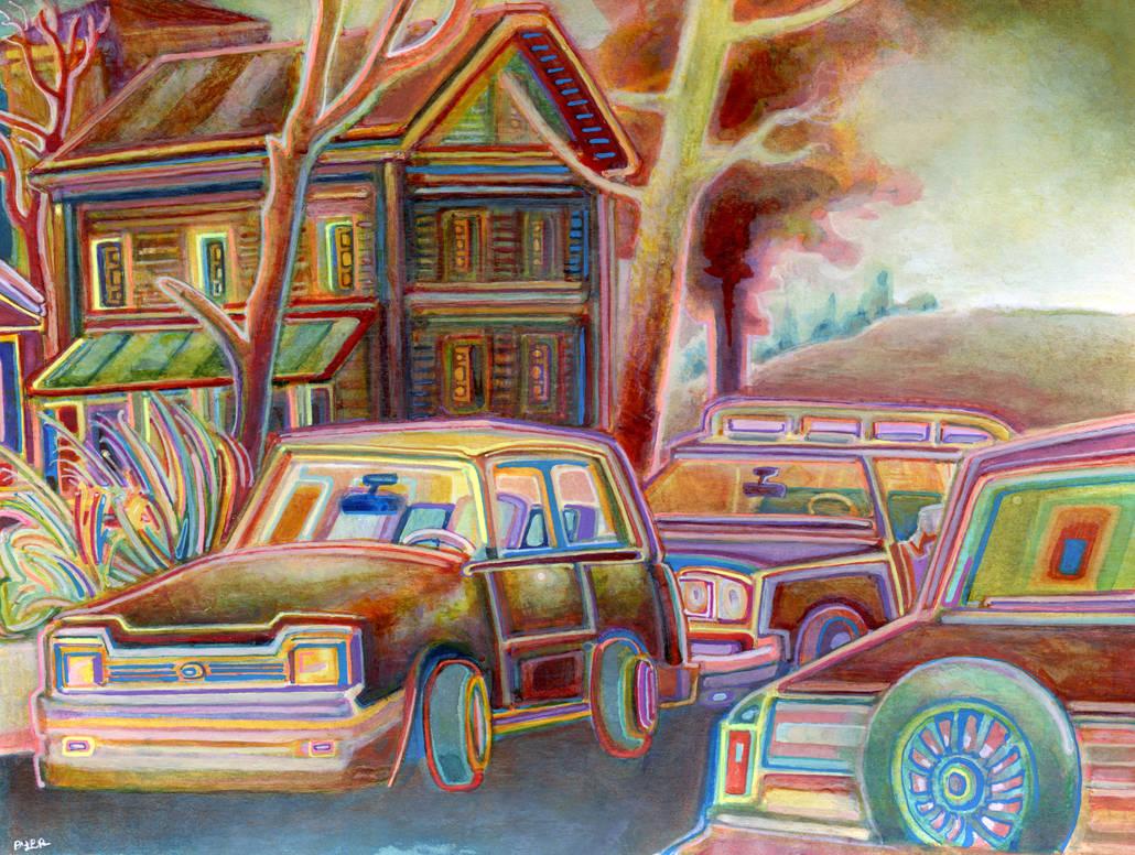 Edge of Town by JoshByer