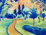 The Orange Path by JoshByer