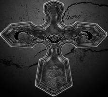 My grunge cross by coolcatkilla