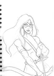 Silverline sketch by Enforcer84