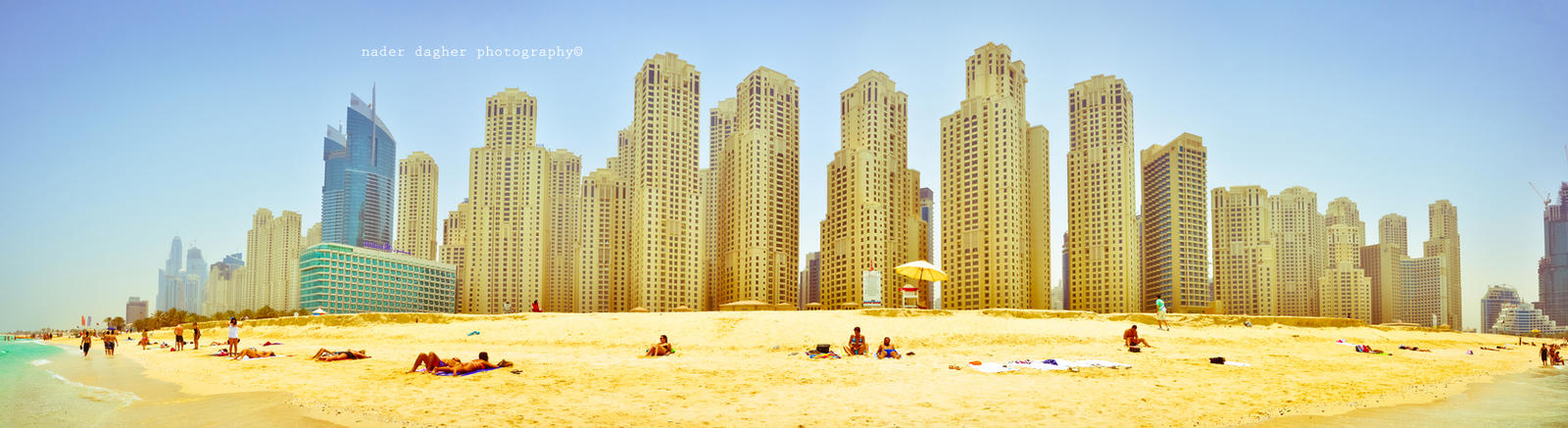 D Art Exhibition Jbr : Summer in dubai jbr panorama by chanklish on deviantart