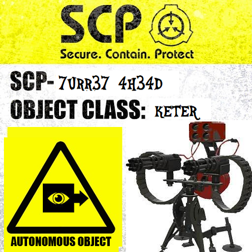 Scp-TURRET TF2 SPRAY By SCP-CIM-Founder On DeviantArt