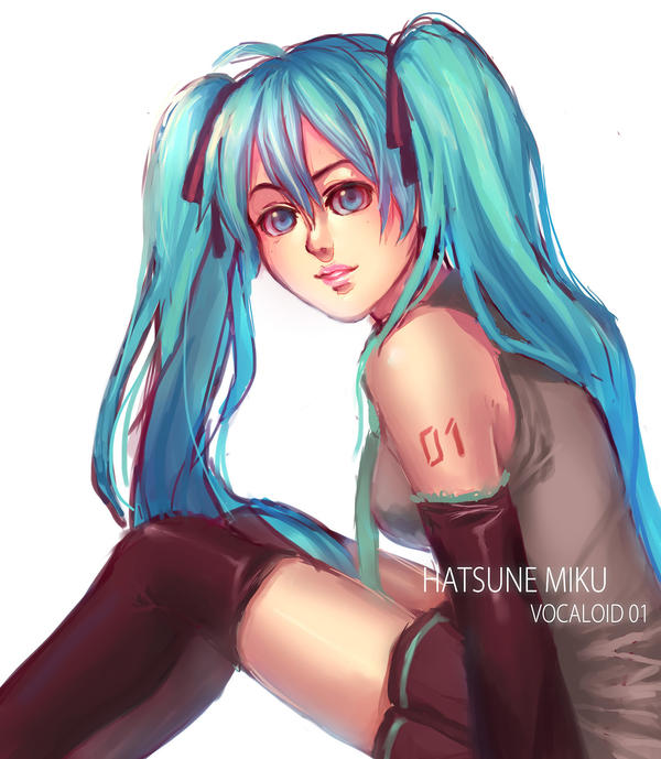 miku 01 by Aurellien