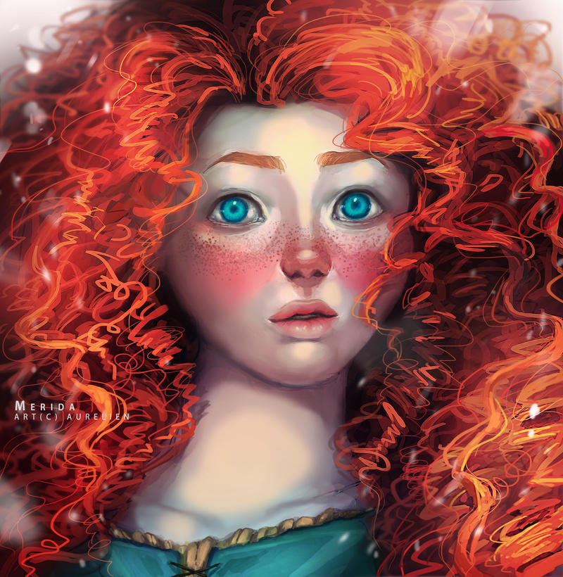 Merida by Aurellien