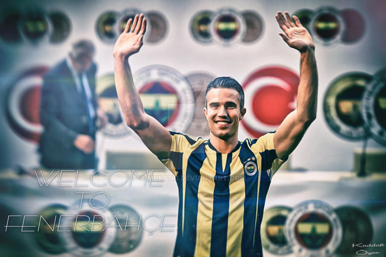 Robin van persie welcome to fenerbahce wallpaper by mrkado on deviantart robin van persie welcome to fenerbahce wallpaper by mrkado voltagebd Image collections