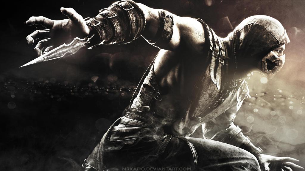 Mortal Kombat X Scorpion Wallpaper HD By MrKado
