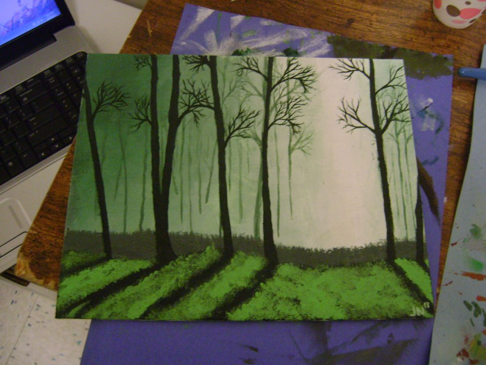 Tree Painting Tree Acrylic Painting by