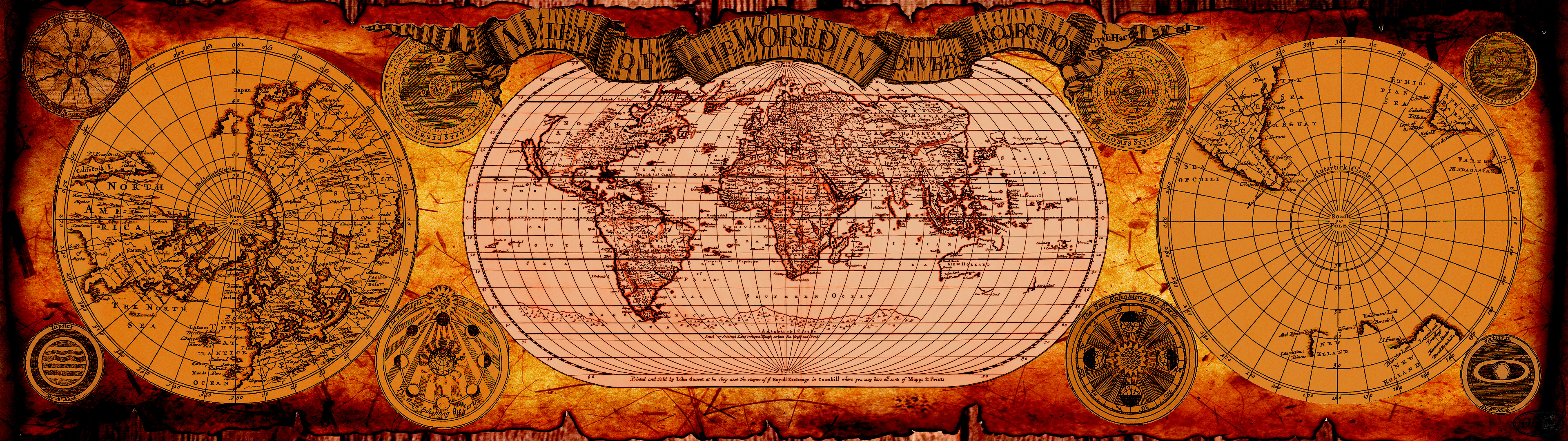 Images of ancient wallpaper world map fan an ancient map by cutty sark on deviantart ancient wallpaper world gumiabroncs Gallery