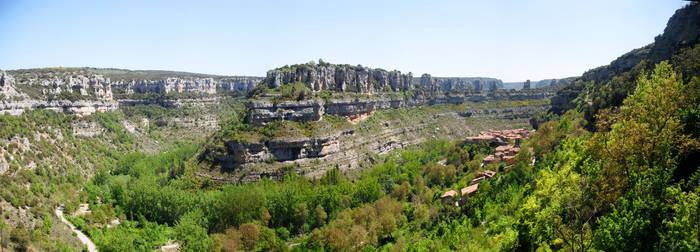 Desde orbaneja del Castillo