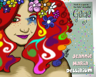 Jeannie Maria de Delirium by gildabrasil