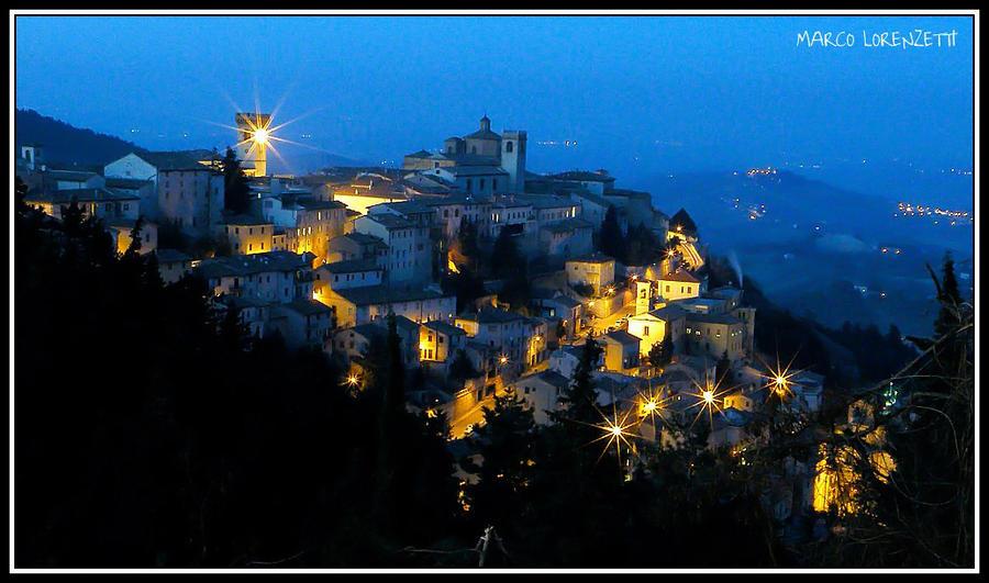 ARCEVIA (AN) - MAGIC AT THE DUSK! by MarcoLorenzetti