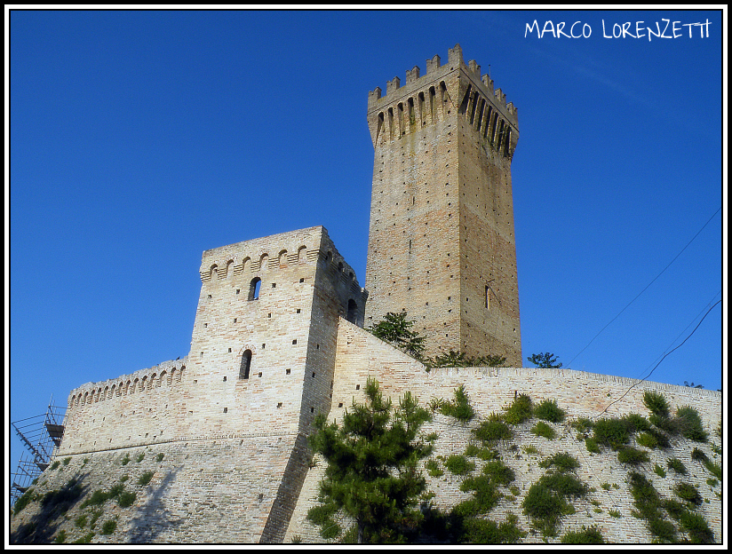 MONTEFIORE DI RECANATI (MC)-THE CASTLE by MarcoLorenzetti