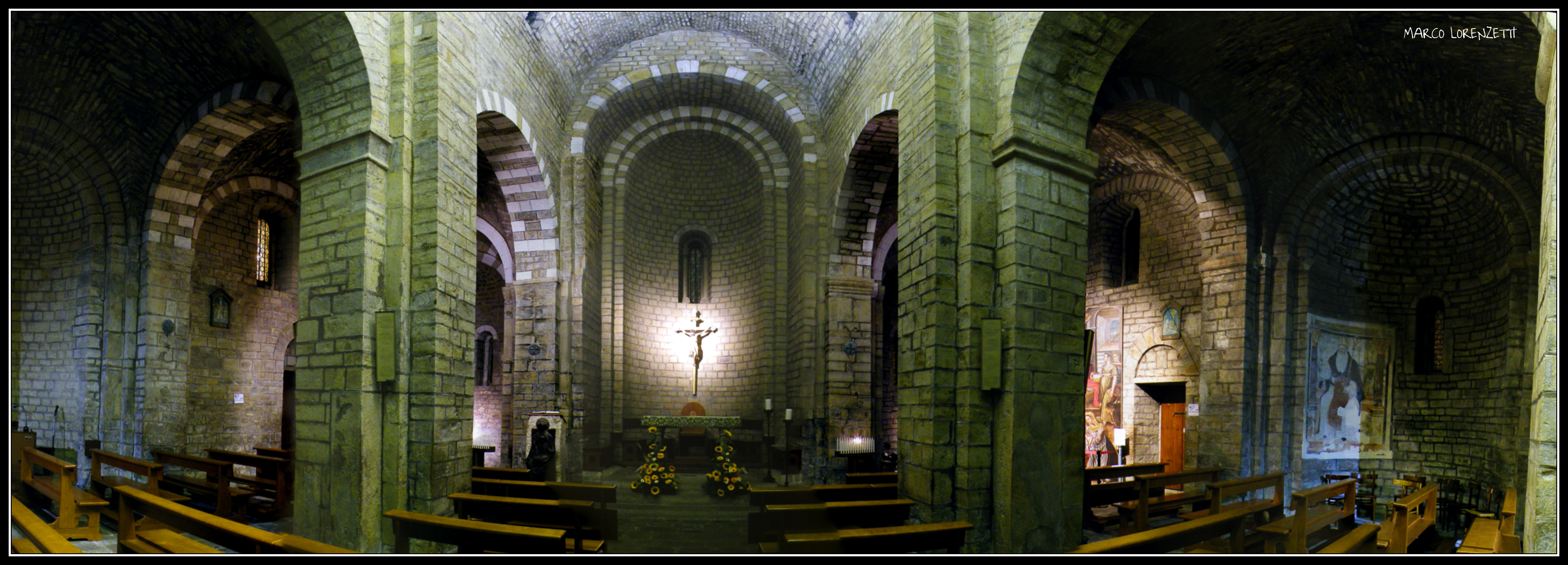 MOIE DI MAIOLATI SP. (AN) - INSIDE ST.MARY CHURCH by MarcoLorenzetti
