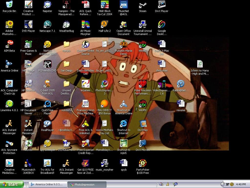 Omar Desktop by Tenshi3D