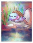 Sleeping Squirtle