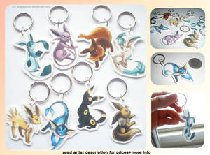 Eevee Keychains for Charity