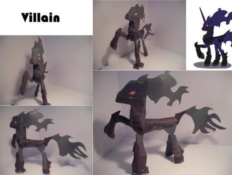 Villain papercraft