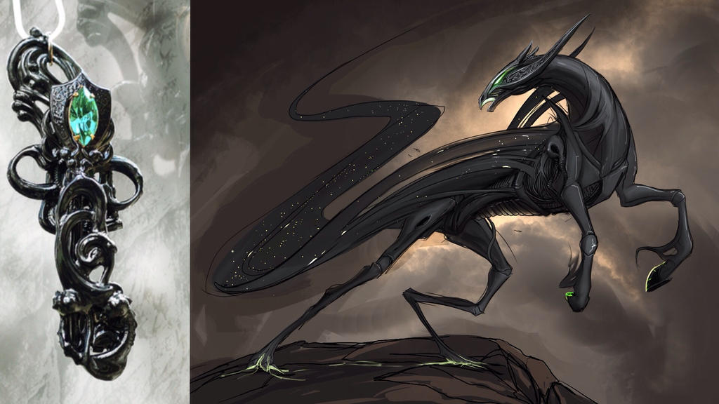 DarkHorse away! by Tapwing