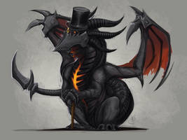 deathwing like a sir by Tapwing