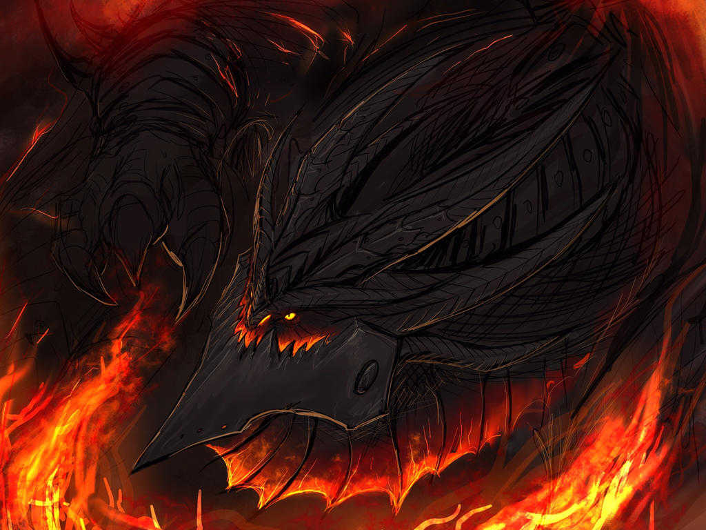 Dark and fire by Tapwing