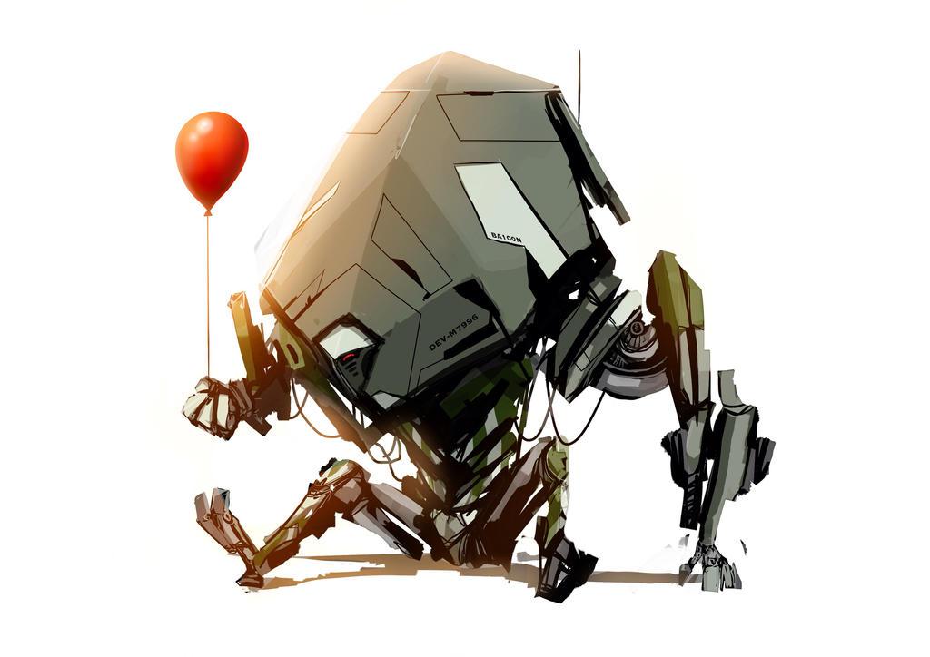 ballon bot by Tapwing