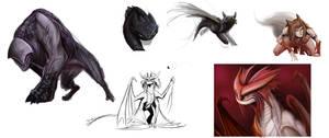 dragons n things!