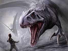 Indominus Rex by Tapwing