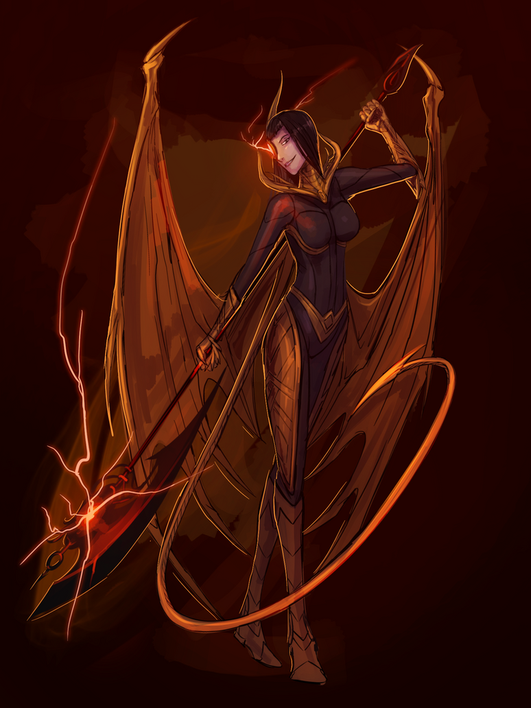 Dragon lady by Tapwing