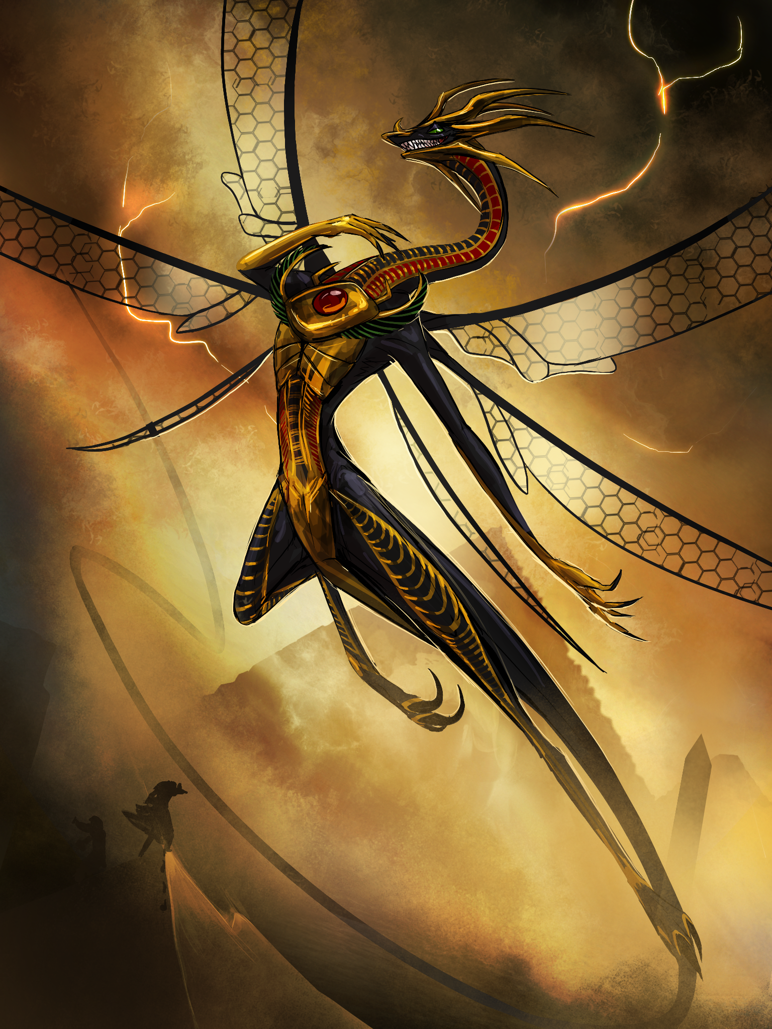 The dancer- Husani by Tapwing