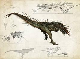 Tissoplastic carnotaurus by Tapwing