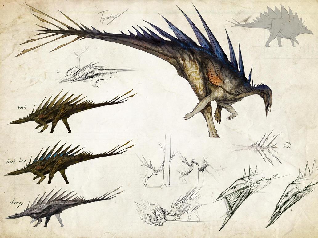-Tissoplastic Stegosaur- by Tapwing