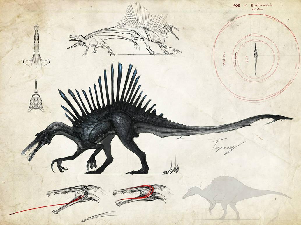 :Neurotenic spinosaurus: by Tapwing